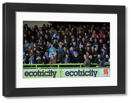 Bristol Rovers fans - Photo mandatory by-line: Nizaam Jones/JMP - Mobile: - 29/04/2015 - SPORT - Football - Nailsworth - The New Lawn - Forest Green Rovers v Bristol Rovers - Vanarama Football Conference
