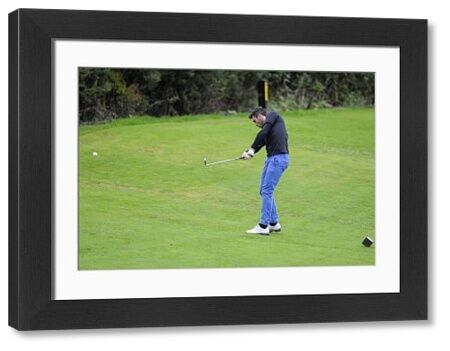 Bristol Rovers' Michael Smith - Bristol Rovers Golf Day