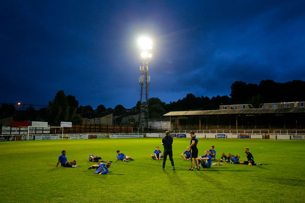 General View as Bristol Rovers warm down - Mandatory by-line: Rogan Thomson/JMP - 12/07/2016 - SPORT - Football - Twerton Park - Bath, England - Bath City v Bristol Rovers - Pre Season Friendly