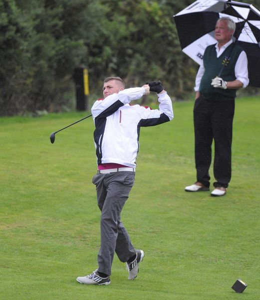 Bristol Rovers' Ryan Brunt - Bristol Rovers Golf Day