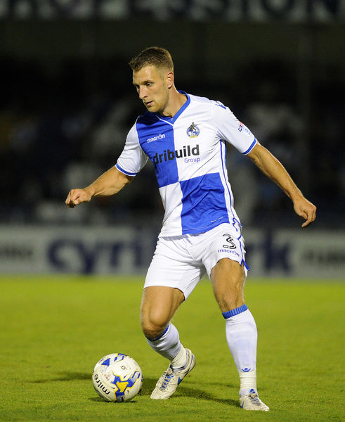 Lee Brown of Bristol Rovers - Mandatory by-line: Neil Brookman/JMP - 17/08/2016 - FOOTBALL - Memorial Stadium - Bristol, England - Bristol Rovers v Bolton Wanderers - Sky Bet League One