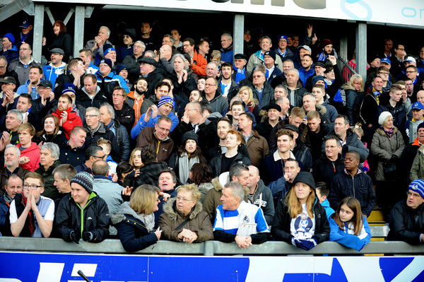 Fans - Mandatory byline: Neil Brookman/JMP - - 28/12/2015 - FOOTBALL - Memorial Stadium - Bristol, England - Bristol Rovers v Leyton Orient - Sky Bet League Two