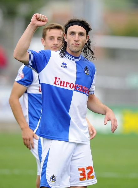 Bristol Rovers' John-Joe OToole - Photo mandatory by-line: Joe Meredith/JMP - 24/08/2013 - SPORT - FOOTBALL - Memorial Stadium - Bristol - Bristol Rovers V York City - Sky Bet League Two