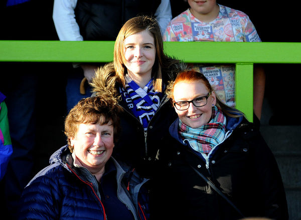 fans - Photo mandatory by-line: Neil Brookman/JMP -29/04/2015 - SPORT - Football - Nailsworth - The New Lawn - Forest Green Rovers v Bristol Rovers - Vanarama Football Conference