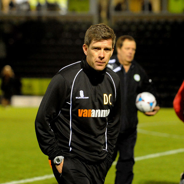Bristol Rovers Manager, Darrell Clarke - Photo mandatory by-line: Neil Brookman/JMP - Mobile: - 29/04/2015 - SPORT - Football - Nailsworth - The New Lawn - Forest Green Rovers v Bristol Rovers - Vanarama Football Conference