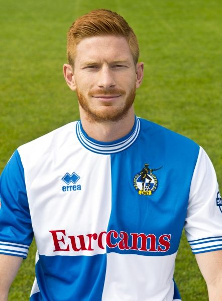 Head Shots. Bristol Rovers Photo Call: Head Shots