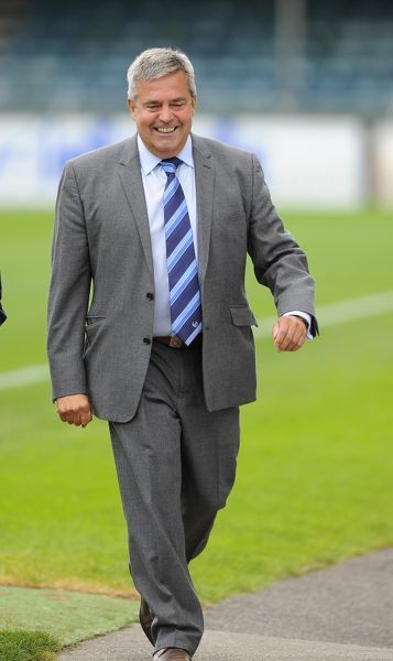 Bristol Rovers V York City 240813. Bristol Rovers Chairman Nick Higgs - Photo mandatory by-line: Joe Meredith/JMP - Tel: Mobile: 24/08/2013 - SPORT - FOOTBALL - Memorial Stadium - Bristol - Bristol Rovers V York City - Sky Bet League Two