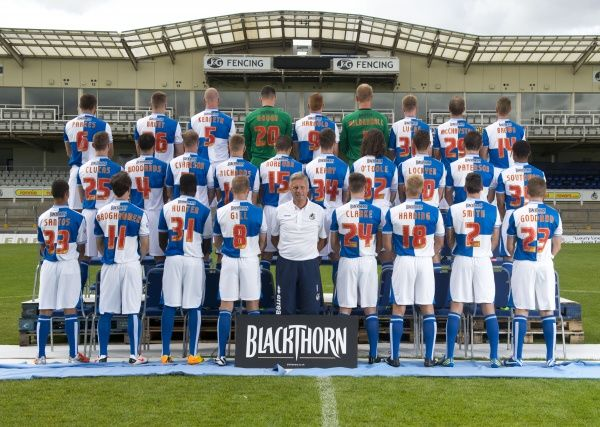 Team Photo. Bristol Rovers Photo Call: Team Photo