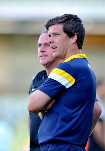 Bristol Rovers Manger Darrell Clarke - Photo mandatory by-line: Alex James/JMP - 15/07/2014 - SPORT - FOOTBALL - Huish Park - Yeovil - Yeovil Town V Bristol Rovers - preseason