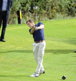 golf day/bristol rovers tom lockyer bristol rovers golf