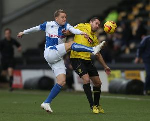 <b>Burton Albion v Bristol Rovers</b><br>Selection of 80 items
