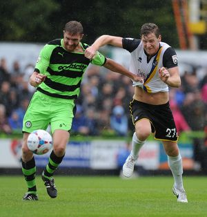 Forest Green Rovers v Bristol Rovers