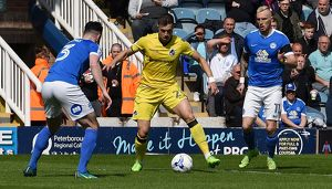 <b>Peterborough United v Bristol Rovers</b><br>Selection of 96 items