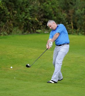 golf day/radio bristol presenter rovers player geoff twentyman